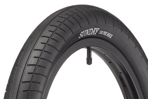 "Sunday Street Sweeper Tyres - 20"" x 2.40"" - Black"
